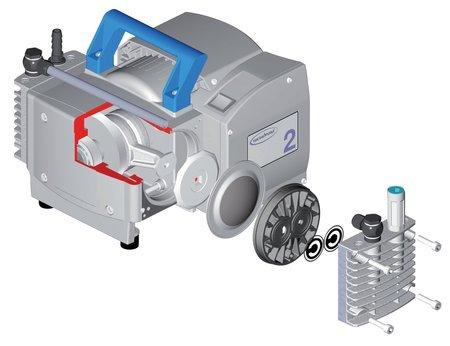 Diyafram (Membran) Vakum Pompa Sistemleri